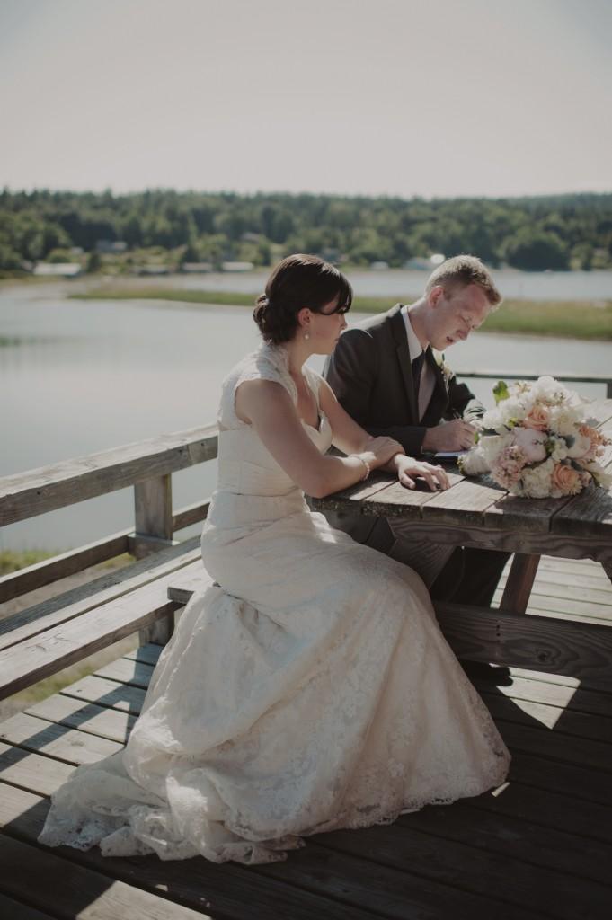 Seattle Wedding Officiants, Destination Wedding, San Juan Islands Wedding, Elaine Way, Nondenominational minister, Real Wedding