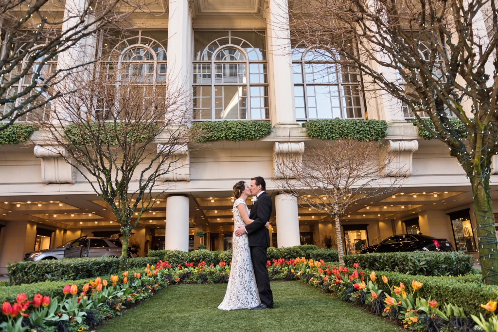 small fairmont hotel seattle wedding seattle wedding